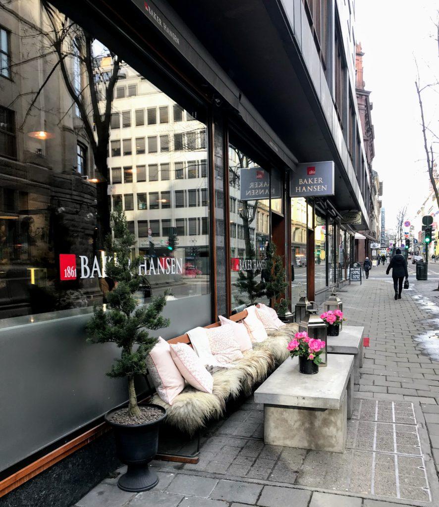 cafe in Oslo